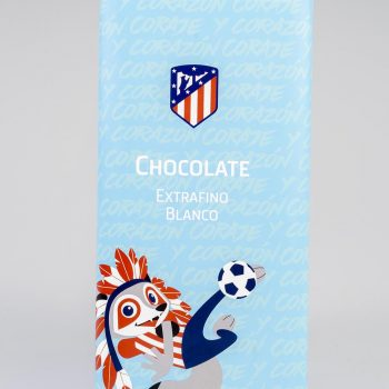 Gourmet Sport Chocolate Extrafino Blanco Atlético de Madrid