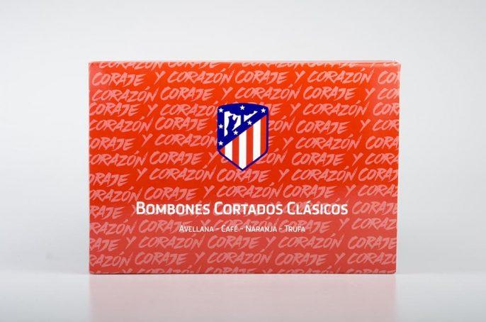 Gourmet Sport Bombones Cortados Clásicos Atlético de Madrid