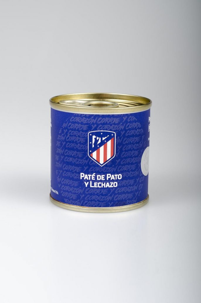Gourmet Sport Paté de Pato y Lechazo Atlético de Madrid